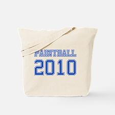 """""""Paintball 2010"""" Tote Bag"""