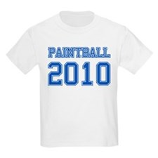 """Paintball 2010"" T-Shirt"