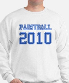 """Paintball 2010"" Sweater"