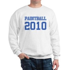 """Paintball 2010"" Sweatshirt"