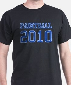 """Paintball 2010"" T-Shirt"