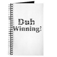 Vintage Duh Winning! Journal