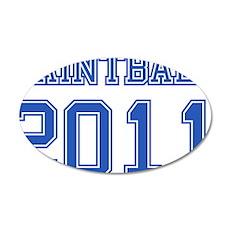 """Paintball 2011"" 22x14 Oval Wall Peel"