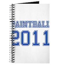 """Paintball 2011"" Journal"