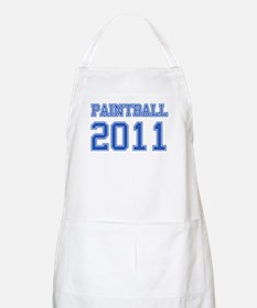 """Paintball 2011"" Apron"