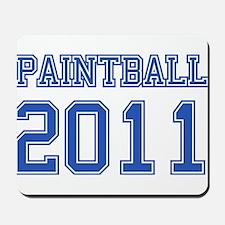 """""""Paintball 2011"""" Mousepad"""