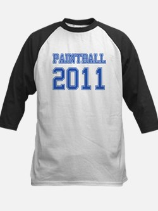 """""""Paintball 2011"""" Kids Baseball Jersey"""
