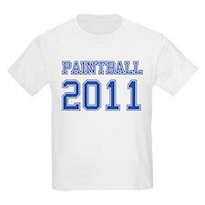 """Paintball 2011"" T-Shirt"