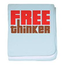 Free Thinker baby blanket