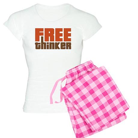 Free Thinker Women's Light Pajamas