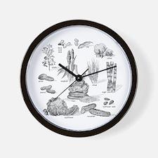 Farm Fresh Food Wall Clock