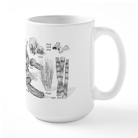 Farm Fresh Food Large Mug