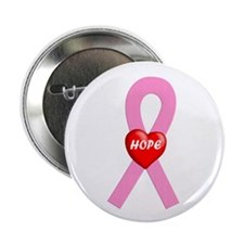 Pink Hope Button
