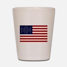 The Union Civil War Flag Shot Glass