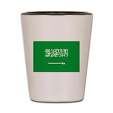 Saudi Arabia Shot Glass