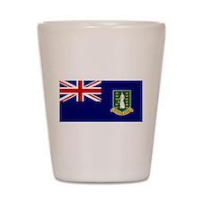 The British Virgin Islands Shot Glass