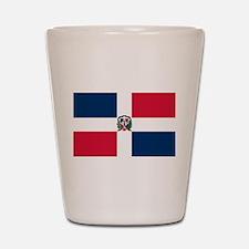The Dominican Republic Shot Glass