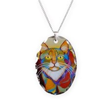 Cat-of-Many-Colors Necklace