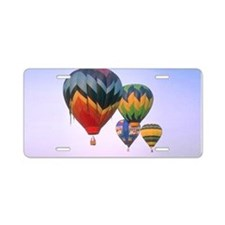 Hot Air Balloons Aluminum License Plate