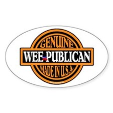 Genuine Wee-publican Oval Decal