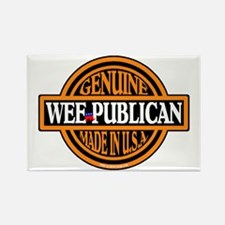 Genuine Wee-publican Rectangle Magnet