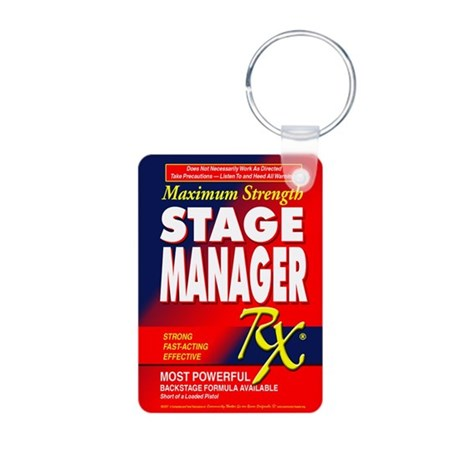 Stage Manager RX Aluminum Photo Keychain