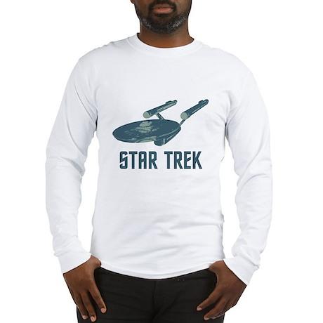 Retro Enterprise Long Sleeve T-Shirt