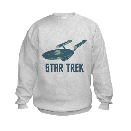Retro Enterprise Kids Sweatshirt