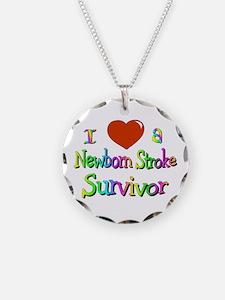 newborn stroke survivor Necklace