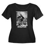 Berlin 1933 Women's Plus Size Scoop Neck Dark T-Sh
