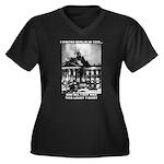 Berlin 1933 Women's Plus Size V-Neck Dark T-Shirt
