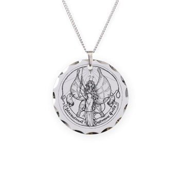 ICG Necklace Circle Charm