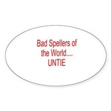 Bad Spellers Decal