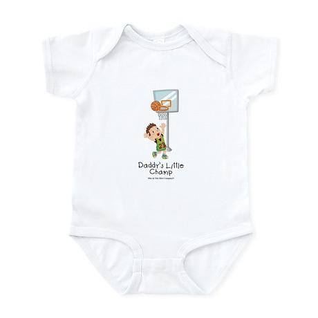 Daddy's Little Champ Infant Bodysuit