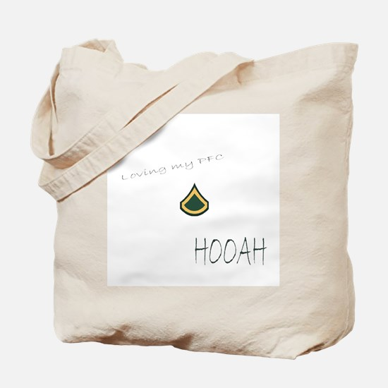 Loving my PFC Tote Bag