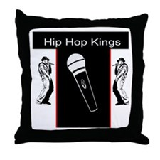 Hip Hop Kings Throw Pillow