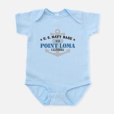 US Navy Point Loma Base Infant Bodysuit