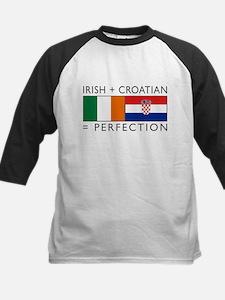 Irish Croatian flags Tee