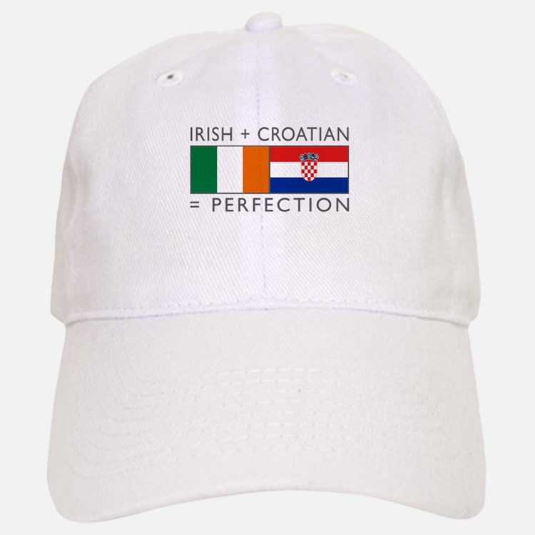Irish Croatian flags Baseball Baseball Cap