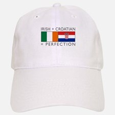 Irish Croatian flags Cap