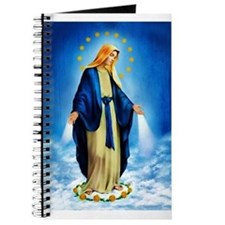 Cute Virgin mary Journal