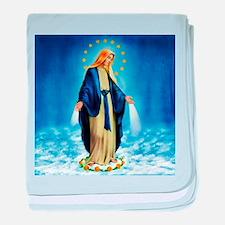 Cute Catholic faith baby blanket