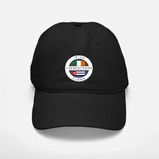 Irish Cuban heritage flags Baseball Hat