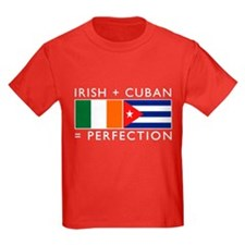 Irish Cuban heritage flags T