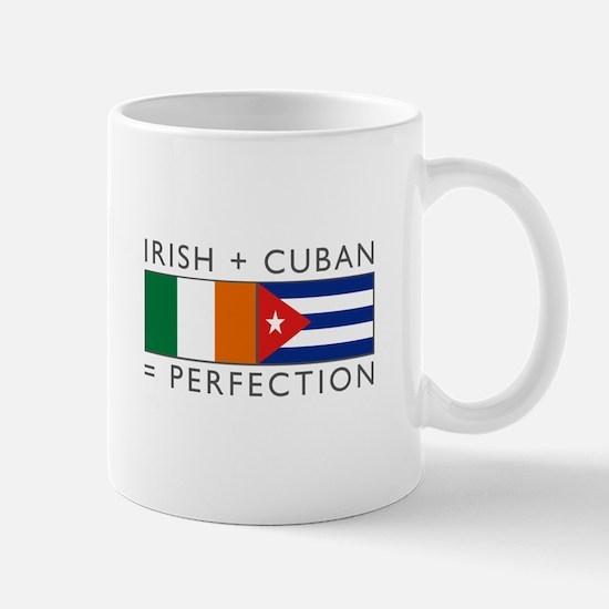 Irish Cuban heritage flags Mug