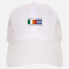 Irish Cuban heritage flags Baseball Baseball Cap