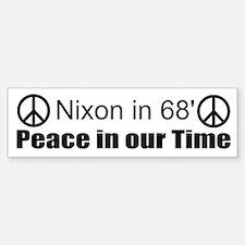 Nixon Bumper Bumper Bumper Sticker