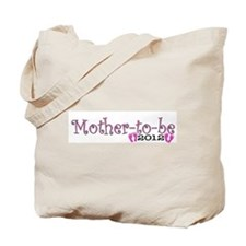 Mother-to-be 2012 Baby Girl Tote Bag