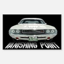 Vanishing Point Sticker (Rectangle)