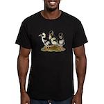 Emery Penciled Runner Ducklin Men's Fitted T-Shirt